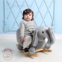 راکر کودک مدل طرح فیل